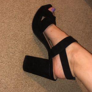 Strappy heels/sandals